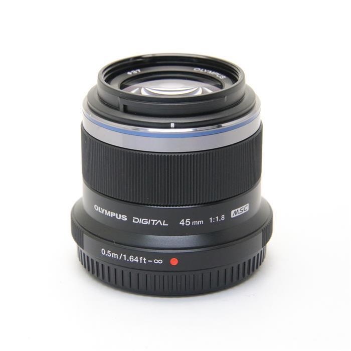 【あす楽】 【中古】 《良品》 OLYMPUS M.ZUIKO DIGITAL 45mm F1.8 ブラック (マイクロフォーサーズ) [ Lens | 交換レンズ ]