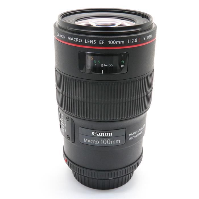 【あす楽】 【中古】 《良品》 Canon EF100mm F2.8Lマクロ IS USM [ Lens   交換レンズ ]