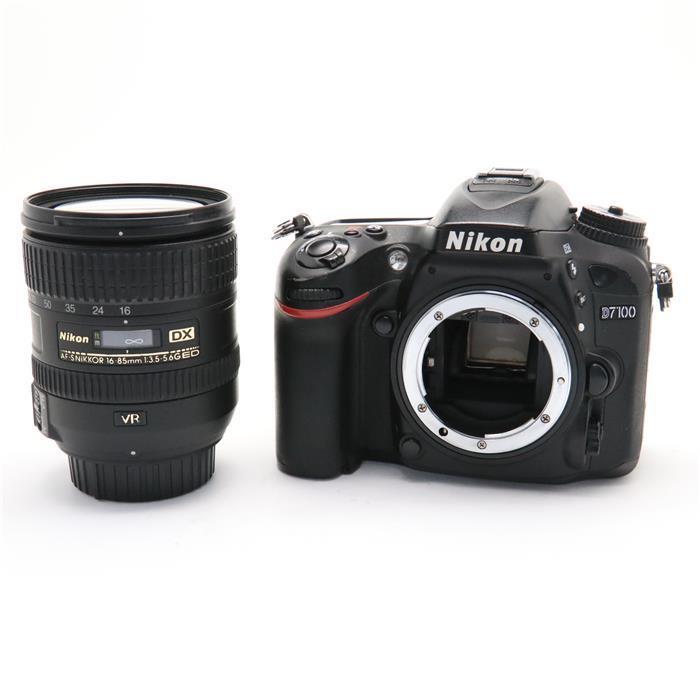 【あす楽】 【中古】 《並品》 Nikon D7100 16-85 VR レンズキット [ デジタルカメラ ]