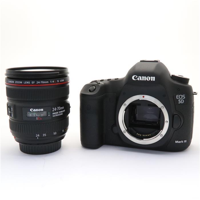 【あす楽】 【中古】 《美品》 Canon EOS 5D Mark III EF24-70L IS U レンズキット [ デジタルカメラ ]