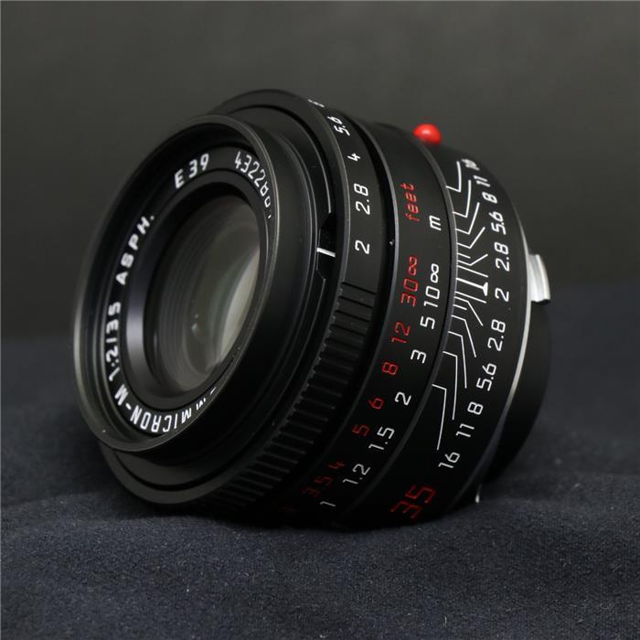 【あす楽】 【中古】 《美品》 Leica ズミクロン M35mm F2.0 ASPH. ブラッククローム [ Lens | 交換レンズ ]