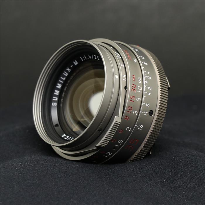 【あす楽】 【中古】 《難有品》 Leica ズミルックス M35mm F1.4 チタン [ Lens | 交換レンズ ]