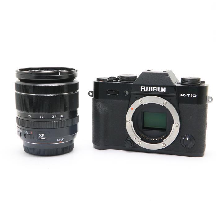 【あす楽】 【中古】 《難有品》 FUJIFILM X-T10 レンズキット ブラック [ デジタルカメラ ]