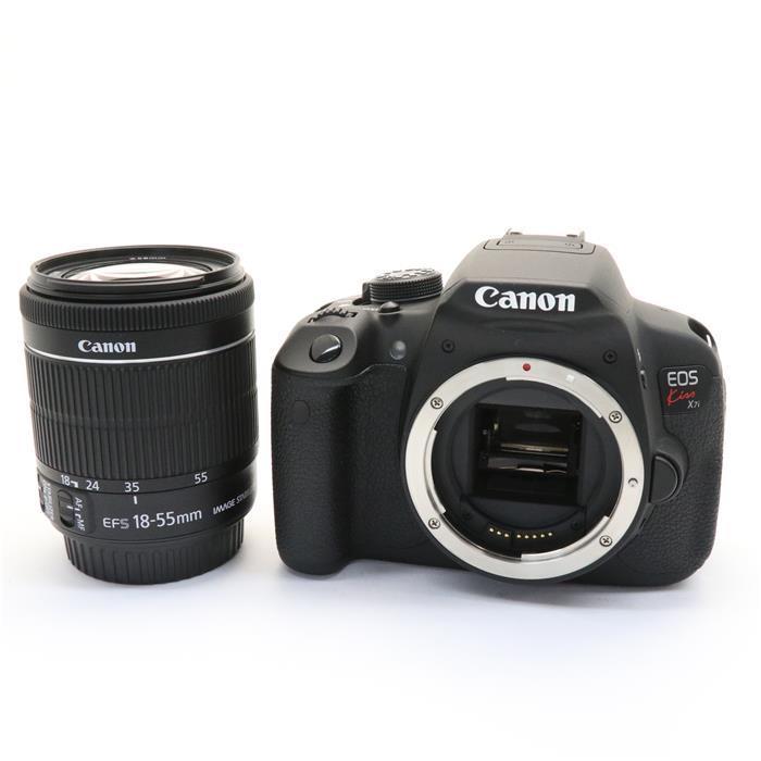 【あす楽】 【中古】 《美品》 Canon EOS Kiss X7i EF-S18-55 IS STM レンズキット [ デジタルカメラ ]