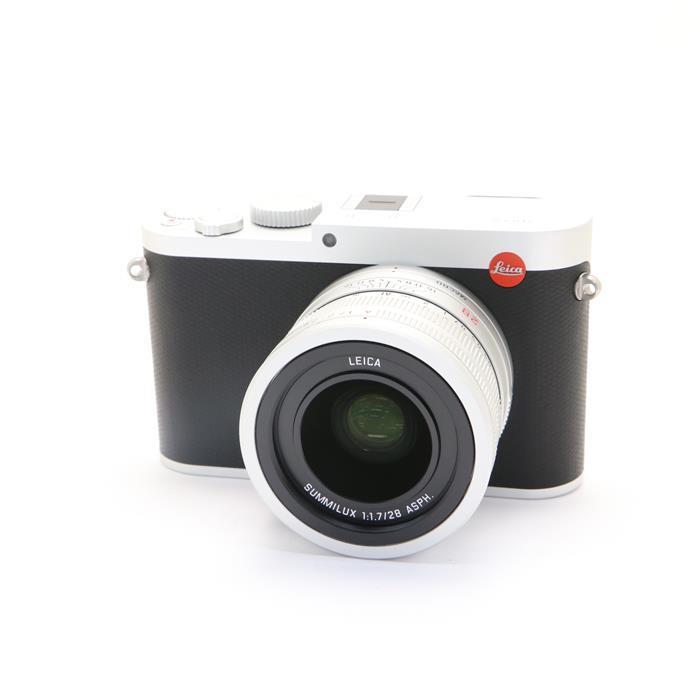 【あす楽】 【中古】 《美品》 Leica Q(Typ116) シルバー 【ライカカメラジャパンにて外観清掃/各部点検済】 [ デジタルカメラ ]