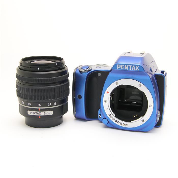 【あす楽】 【中古】 《美品》 PENTAX K-S1 レンズキット ブルー [ デジタルカメラ ]
