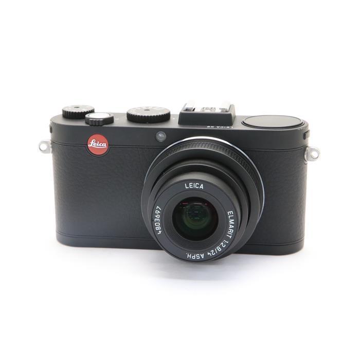【あす楽】 【中古】 《美品》 Leica X2 ブラック 【ライカカメラジャパンにてLCD保護パネル部品交換/外観清掃/各部点検済】 [ デジタルカメラ ]