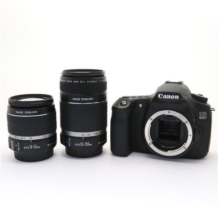 【あす楽】 【中古】 《良品》 Canon EOS 60D ダブルズームキット [ デジタルカメラ ]