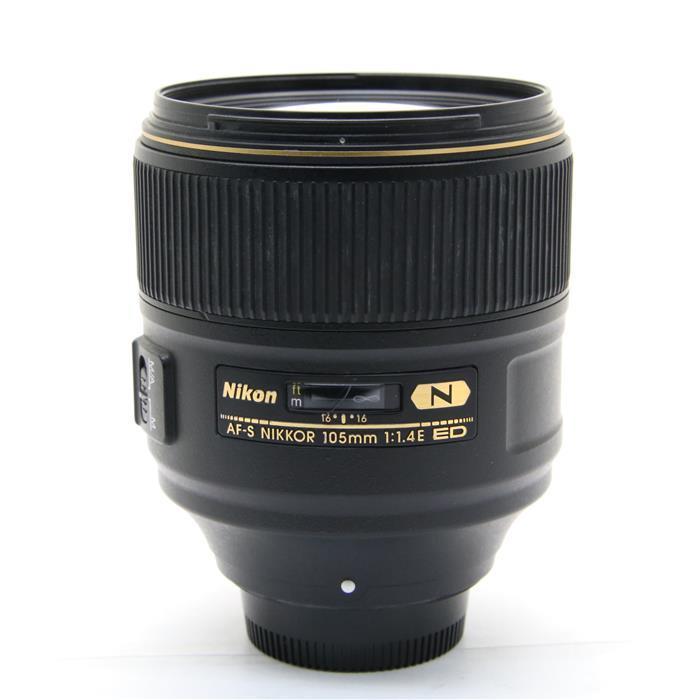 【あす楽】 【中古】 《並品》 Nikon AF-S NIKKOR 105mm F1.4E ED [ Lens | 交換レンズ ]