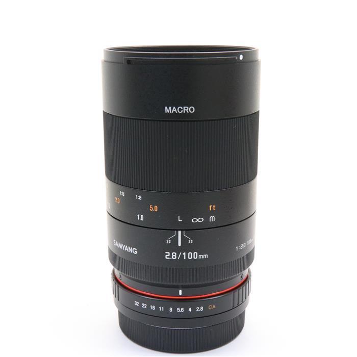 【あす楽】 【中古】 《美品》 SAMYANG 100mm F2.8 ED UMC MACRO (キヤノン用) [ Lens   交換レンズ ]