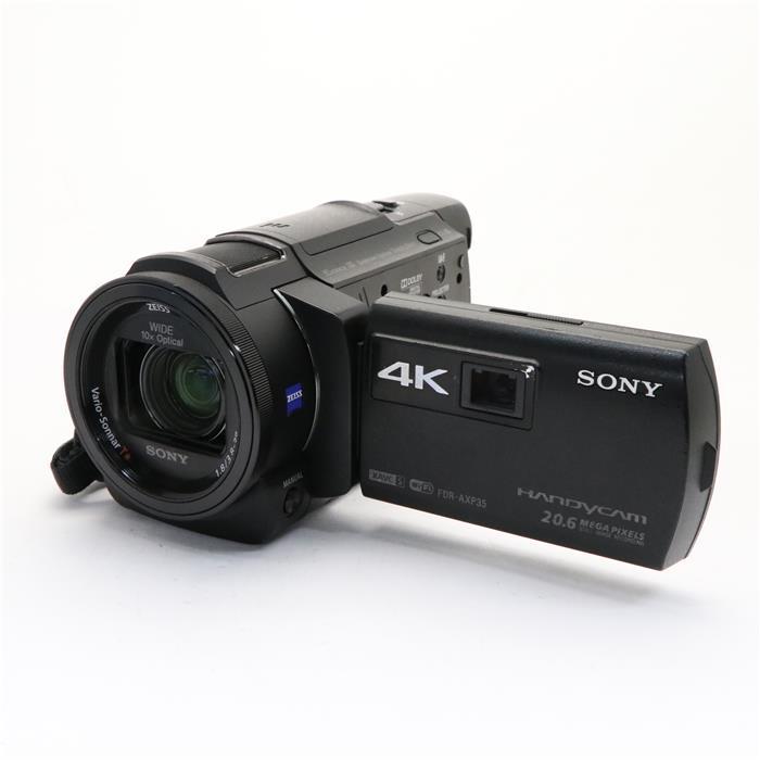 【あす楽】 【中古】 《並品》 SONY デジタル4Kビデオカメラレコーダー HANDYCAM FDR-AXP35 ブラック
