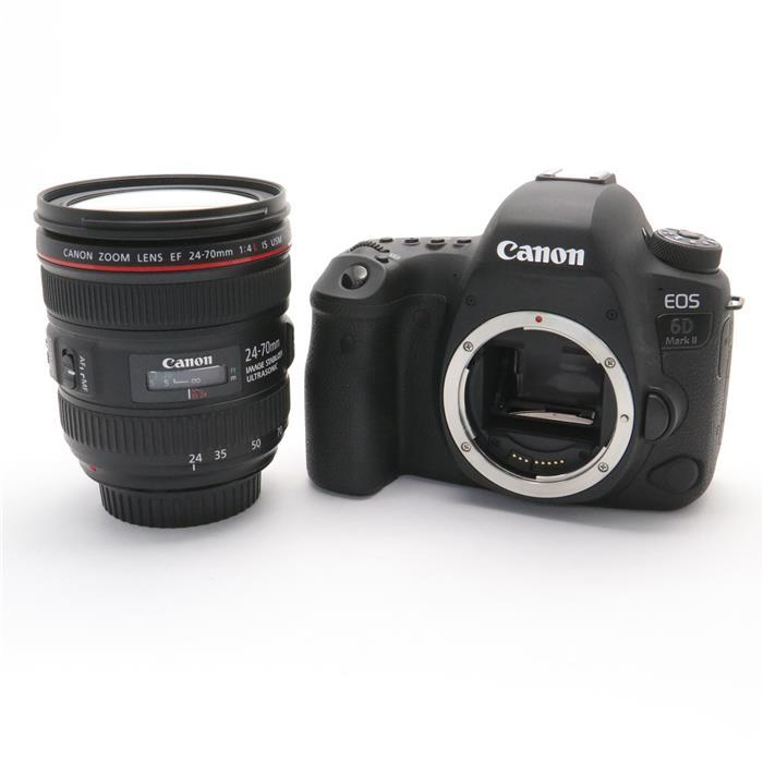 【あす楽】 【中古】 《良品》 Canon EOS 6D Mark II EF24-70 F4L IS USM レンズキット [ デジタルカメラ ]