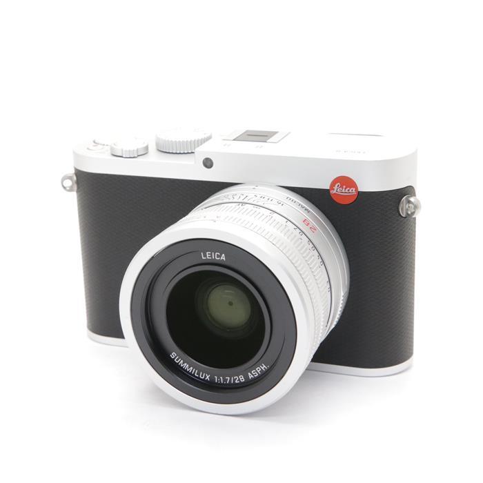 【あす楽】 【中古】 《美品》 Leica Q(Typ116) シルバー シルバー 【ライカカメラジャパンにてセンサークリーニング/各部点検済】 [ デジタルカメラ ]