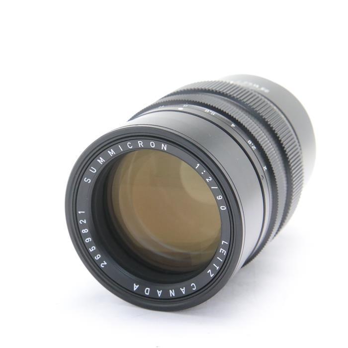【あす楽】 【中古】 《良品》 Leica ズミクロン M90mm F2 ブラッククローム [ Lens | 交換レンズ ]
