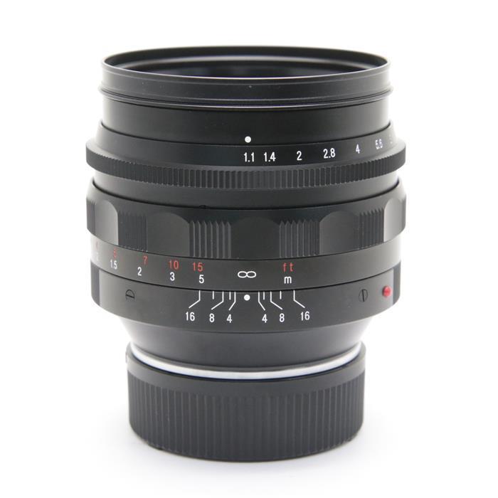 【あす楽】 【中古】 《美品》 Voigtlander NOKTON 50mm F1.1 VM(ライカM用)+ LH-7 フード [ Lens | 交換レンズ ]