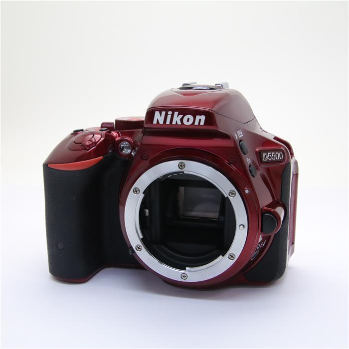 【あす楽】 【中古】 《良品》 Nikon D5500 ボディ レッド [ デジタルカメラ ]
