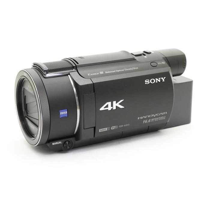【あす楽】 【中古】 《良品》 SONY デジタル4Kビデオカメラレコーダー FDR-AX55 ブラック [ デジタルカメラ ]