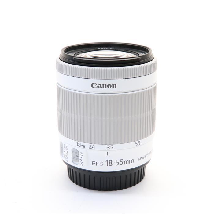【あす楽】 【中古】 《並品》 Canon EF-S18-55mm F3.5-5.6 IS STM ホワイト [ Lens   交換レンズ ]
