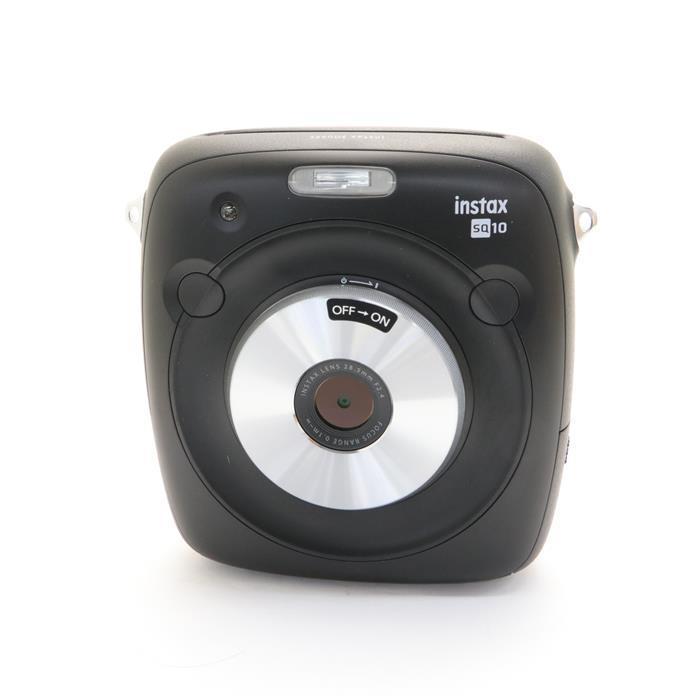 【あす楽】 【中古】 《新同品》 FUJIFILM ハイブリッドインスタントカメラ instax SQUARE SQ10 ブラック
