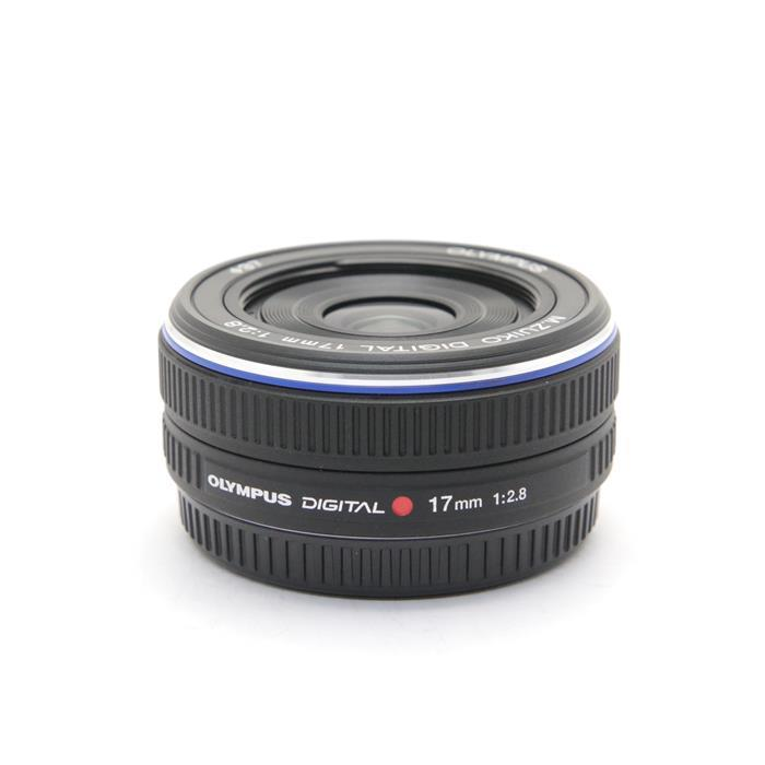 【あす楽】 【中古】 《美品》 OLYMPUS M.ZUIKO DIGITAL 17mm F2.8 ブラック (マイクロフォーサーズ) [ Lens | 交換レンズ ]