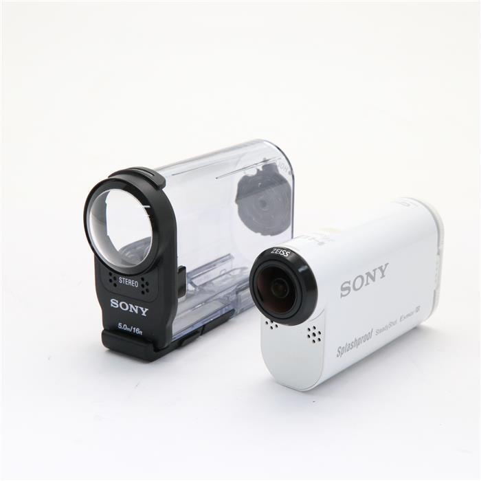 見事な 【あす楽【中古】】 HDR-AS200VR【中古】 《美品》 SONY SONY デジタルHDビデオカメラレコーダー アクションカムリモコンキット HDR-AS200VR W, エコライフShop ジーエムピー:913ccafc --- totem-info.com