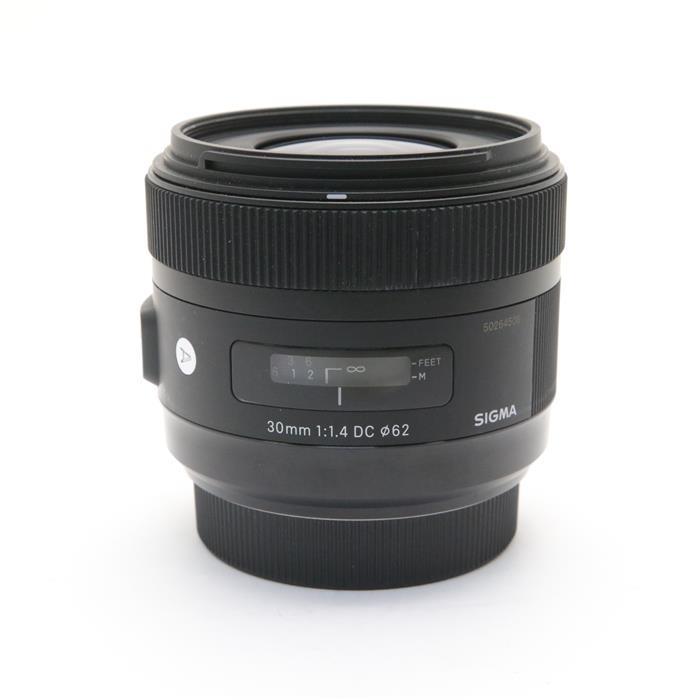 【あす楽】 【中古】 《並品》 SIGMA A 30mm F1.4 DC HSM (ソニーα用) [ Lens | 交換レンズ ]