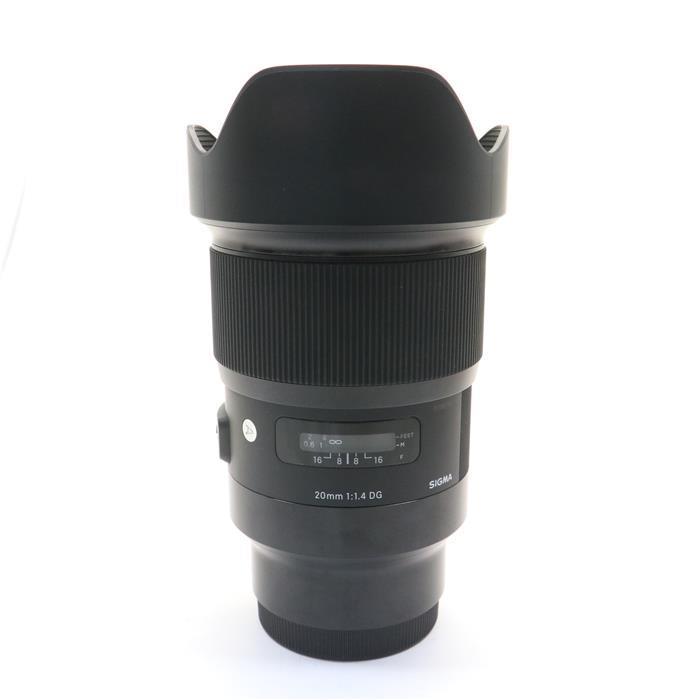 【あす楽】 【中古】 《良品》 SIGMA A 20mm F1.4 DG HSM(ソニーE用/フルサイズ対応) [ Lens | 交換レンズ ]