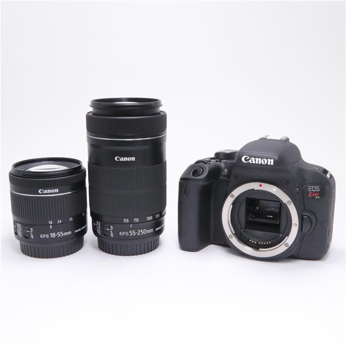 【あす楽】 【中古】 《美品》 Canon EOS Kiss X9i ダブルズームキット [ デジタルカメラ ]
