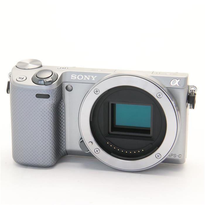 【あす楽】 【中古】 《並品》 SONY NEX-5R シルバー [ デジタルカメラ ]
