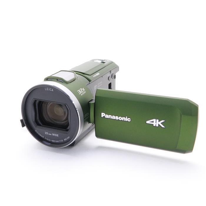 【あす楽】 【中古】 《美品》 Panasonic デジタル4Kビデオカメラ HC-VX2M フォレストカーキ
