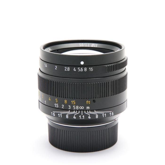 【あす楽】 【中古】 《良品》 七工匠 7artisans 50mm F1.1 (ライカM用) ブラック [ Lens | 交換レンズ ]