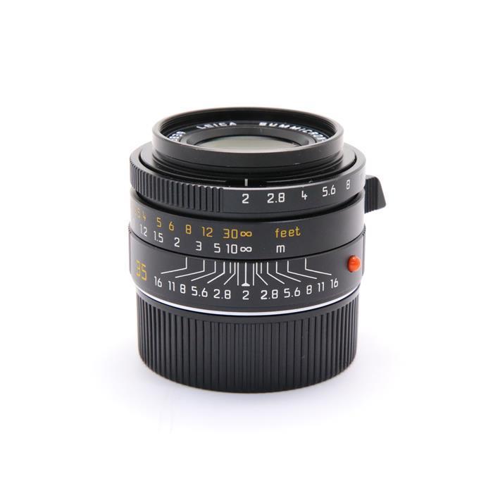 【あす楽】 【中古】 《良品》 Leica ズミクロン M35mm F2 ASPH. (フードはめ込み式) ブラック [ Lens | 交換レンズ ]