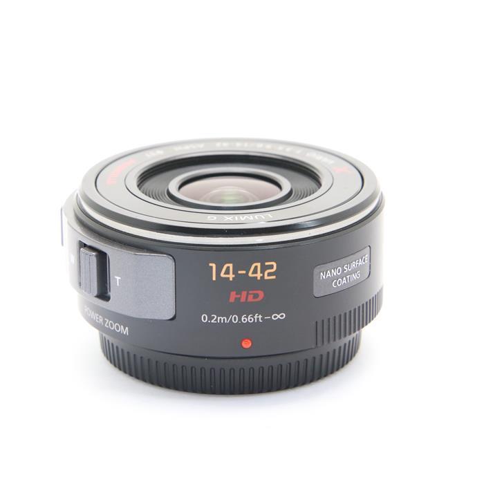 【あす楽】 【中古】 《並品》 Panasonic G X PZ 14-42mm F3.5-5.6 ASPH. POWER O.I.S. ブラック (マイクロフォーサーズ) [ Lens | 交換レンズ ]