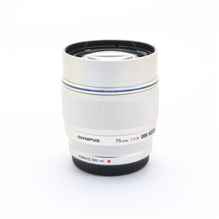 【あす楽】 【中古】 《美品》 OLYMPUS M.ZUIKO DIGITAL ED 75mm F1.8 シルバー (マイクロフォーサーズ) [ Lens   交換レンズ ]