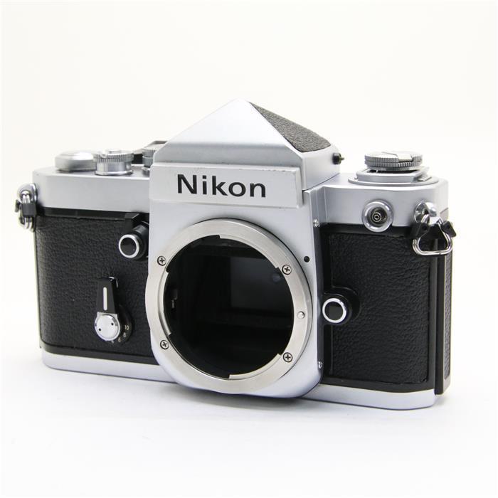 【あす楽】 【中古】 《並品》 Nikon F2 (eyelevel) シルバー 【シャッター精度調整/ファインダー内清掃/各部点検済】