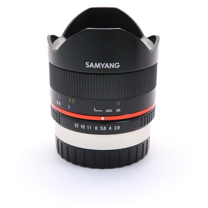 【あす楽】 【中古】 《並品》 SAMYANG 8mm F2.8 UMC Fish-eye II (フジフイルム用) ブラック [ Lens | 交換レンズ ]