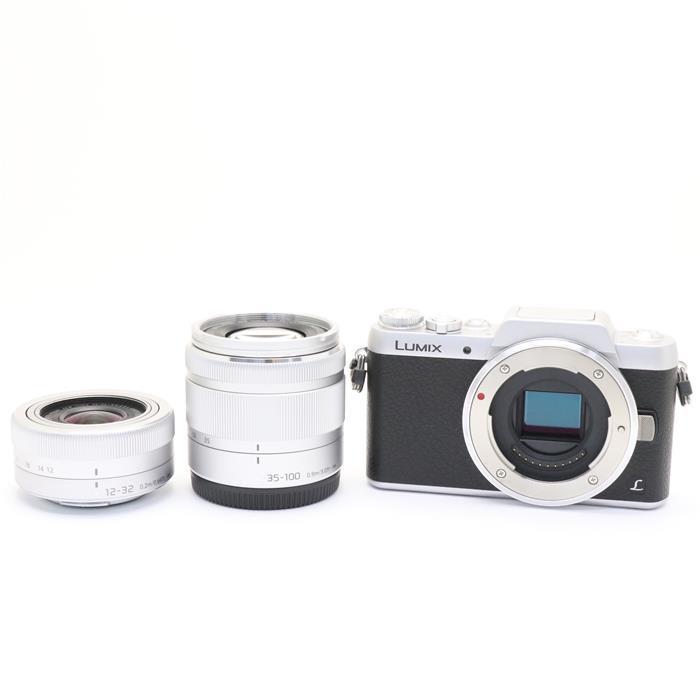 【あす楽】 【中古】 《良品》 Panasonic LUMIX DMC-GF7W ダブルズームレンズキット シルバー [ デジタルカメラ ]