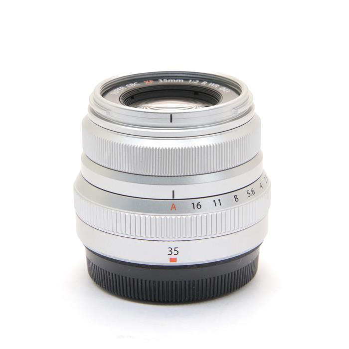 【あす楽】 【中古】 《美品》 FUJIFILM フジノン XF35mm F2 R WR シルバー [ Lens | 交換レンズ ]