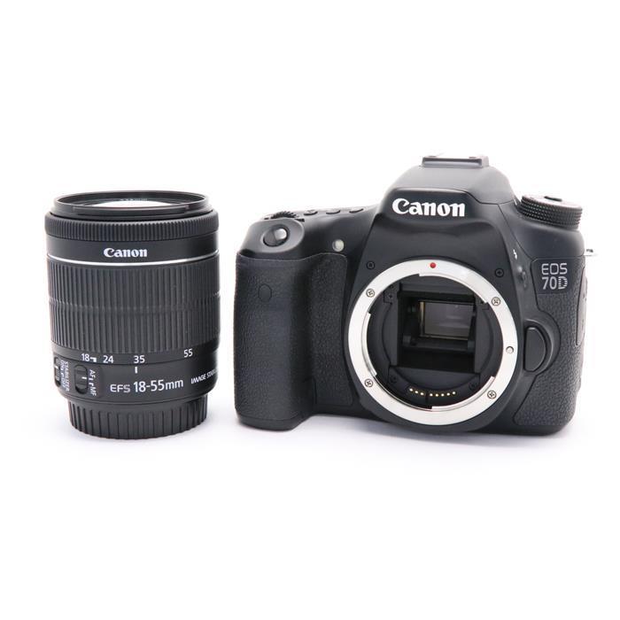 【あす楽】 【中古】 《良品》 Canon EOS 70D EF-S18-55 IS STM レンズキット [ デジタルカメラ ]