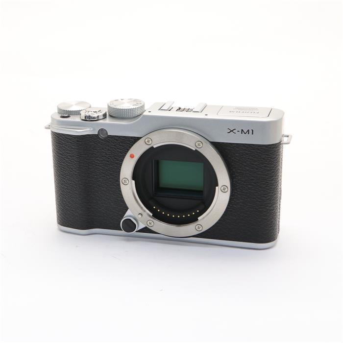 【あす楽】 【中古】 《良品》 FUJIFILM X-M1 ボディ シルバー [ デジタルカメラ ]