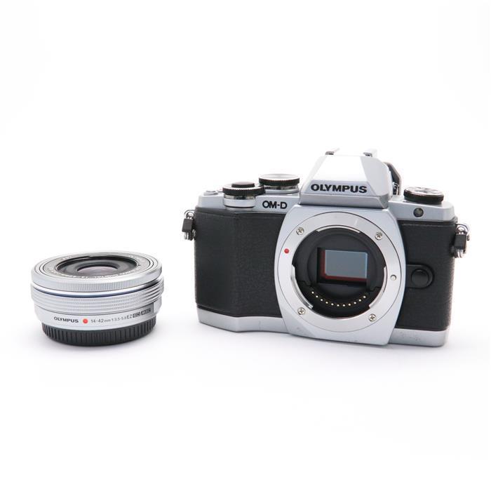 【あす楽】 【中古】 《並品》 OLYMPUS OM-D E-M10 14-42mm EZレンズキット シルバー [ デジタルカメラ ]