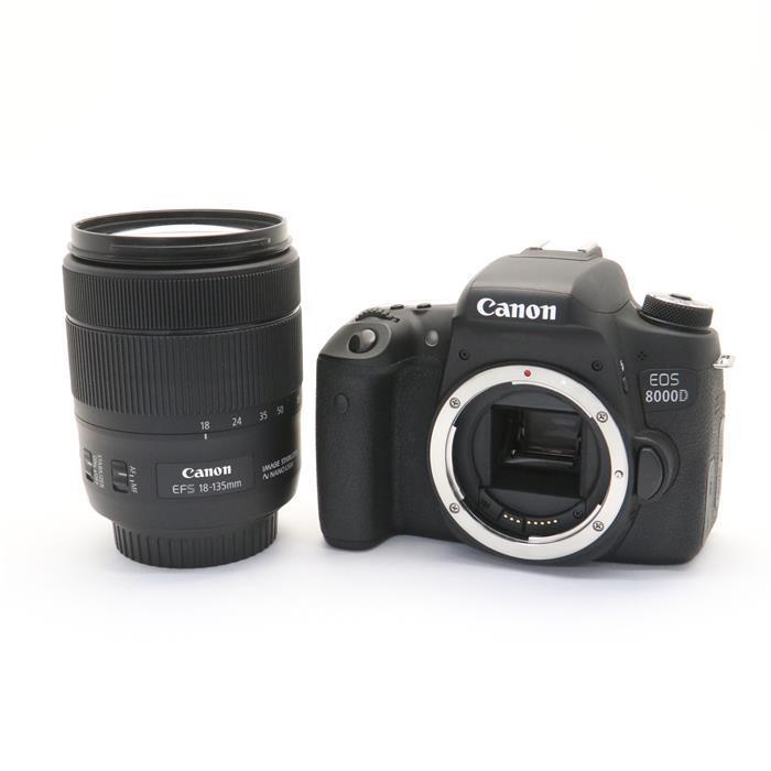 【あす楽】 【中古】 《美品》 Canon EOS 8000D EF-S18-135 IS USM レンズキット [ デジタルカメラ ]