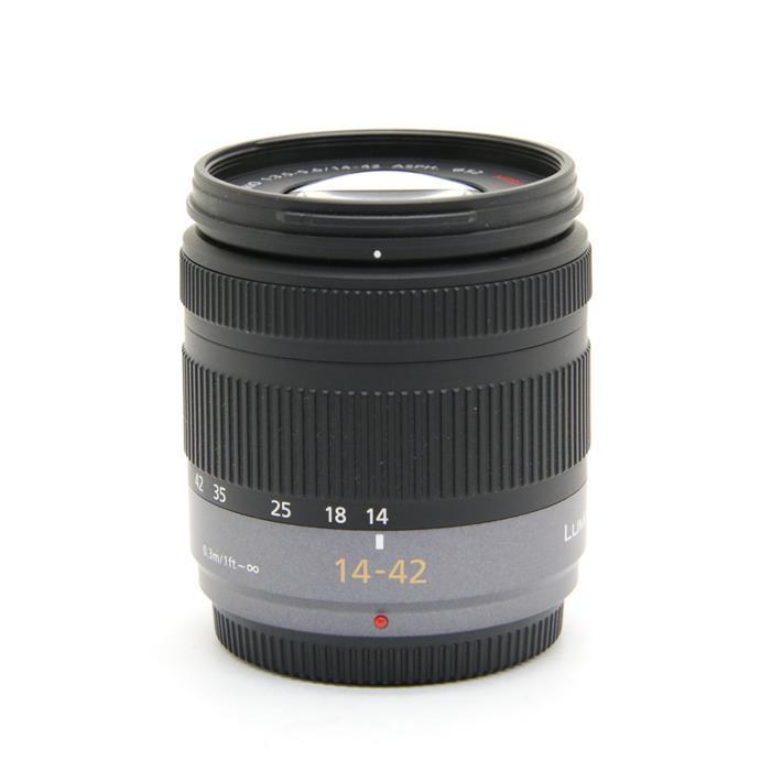【あす楽】 【中古】 《美品》 Panasonic LUMIX G 14-42mm F3.5-5.6 ASPH. MEGA O.I.S. (マイクロフォーサーズ) [ Lens | 交換レンズ ]