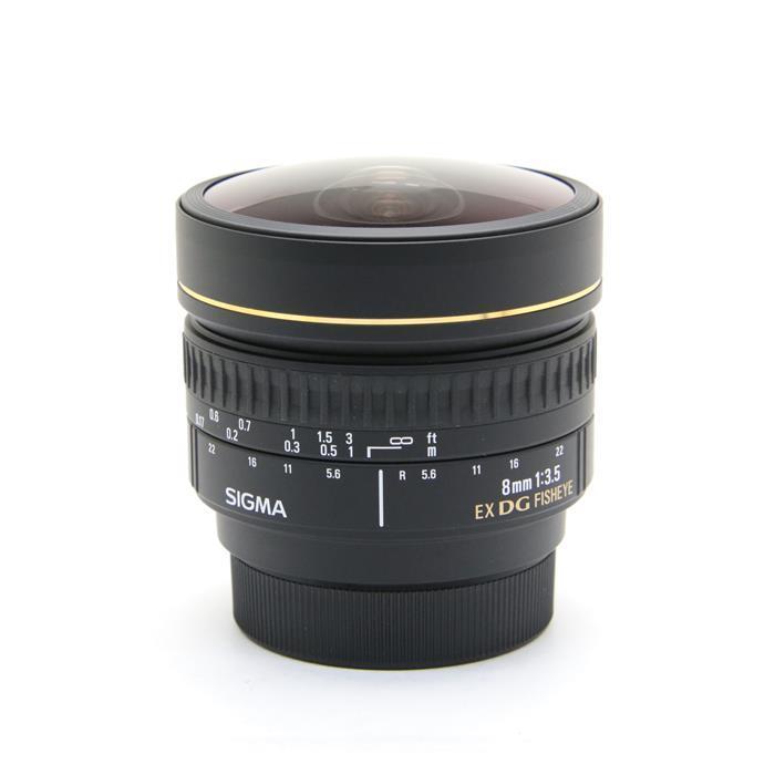 【あす楽】 【中古】 《美品》 SIGMA 8mm F3.5EX DG CIRCULAR FISHEYE(ニコン用) [ Lens | 交換レンズ ]
