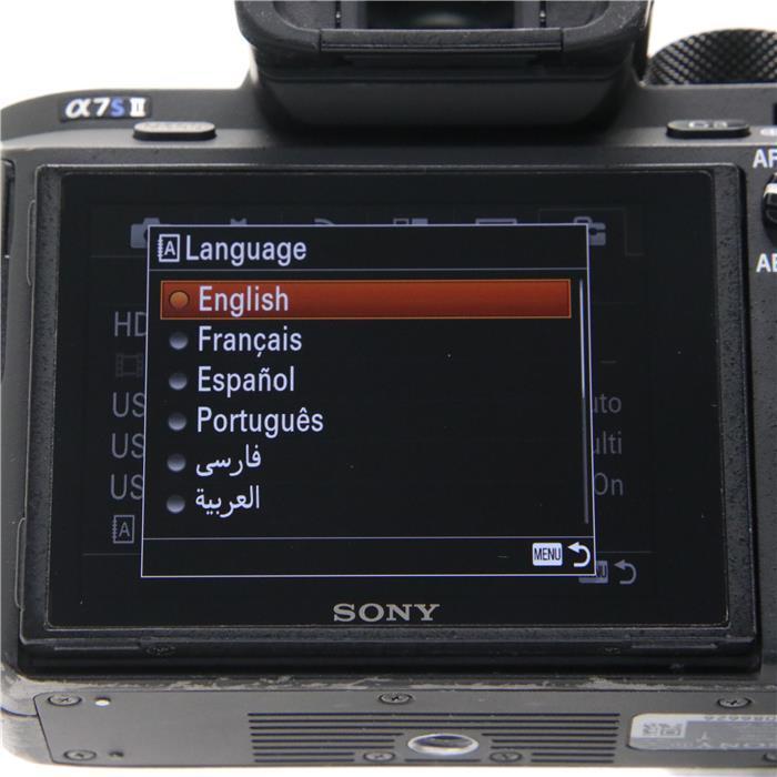 【代引き手数料無料!】 【あす楽】 【中古】 《並品》 SONY α7SII ボディ ILCE-7SM2 [ デジタルカメラ ]