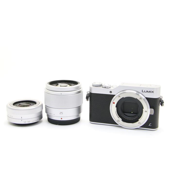 【あす楽】 【中古】 《美品》 Panasonic LUMIX DC-GF9W ダブルレンズキット シルバー [ デジタルカメラ ]
