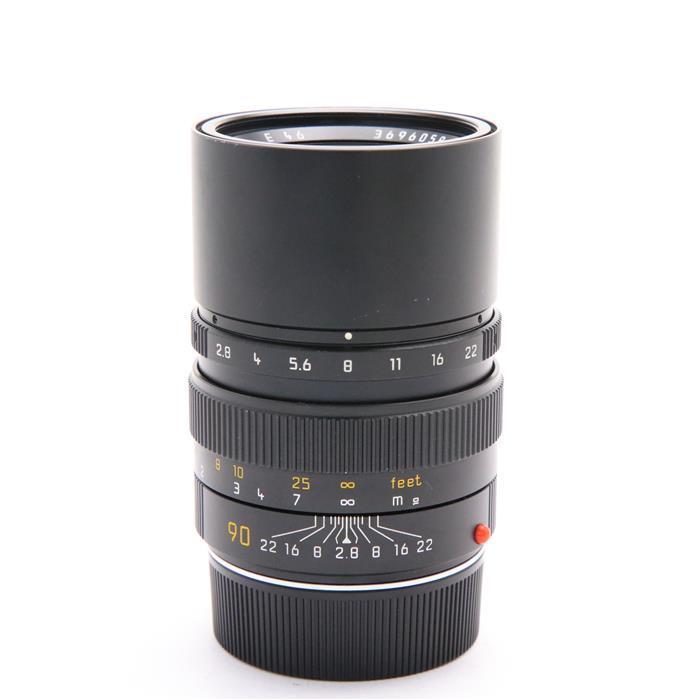 【あす楽】 【中古】 《並品》 Leica エルマリート M90mm F2.8 フード組込 ブラック [ Lens | 交換レンズ ]