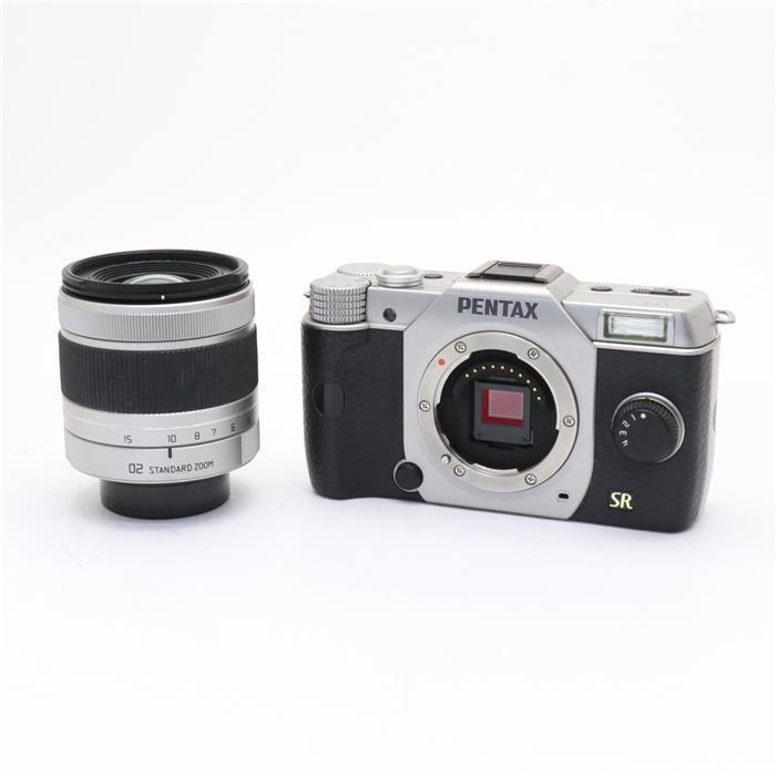 【あす楽】 【中古】 《良品》 PENTAX Q7 ズームレンズキット シルバー [ デジタルカメラ ]