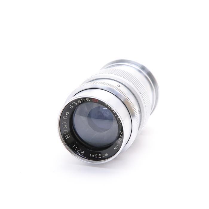 【あす楽】 【中古】 《難有品》 MINOLTA SUPER ROKKOR (L) 85mm F2.8 [ Lens   交換レンズ ]