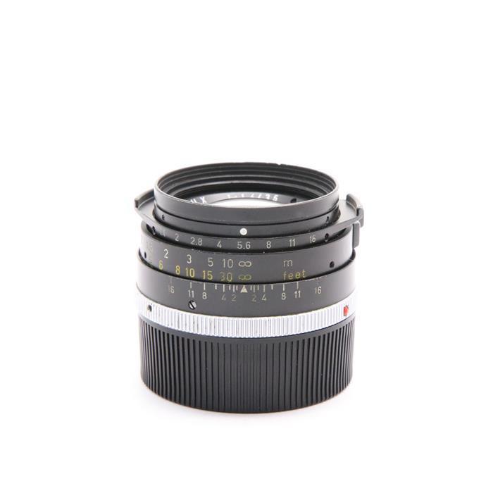 【あす楽】 【中古】 《並品》 Leica ズミルックス M35mm F1.4 2nd ブラック ストッパーなし *フィルター径無し [ Lens | 交換レンズ ]